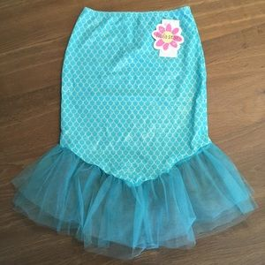 New w/tags Hula Star Mermaid Skirt Toddler size 4T